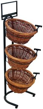 Shop Display Baskets Stands
