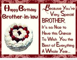 55 Popular Birthday Greetings For Brother In Law Birthday Greeting
