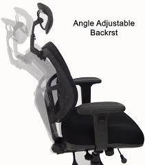 chair headrest. capacity multi-function mesh chair w/headrest headrest