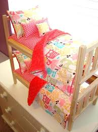 American Girl Bed Sets Girl Doll Bed Yellow Pink Fun Ideas Doll Girl ...