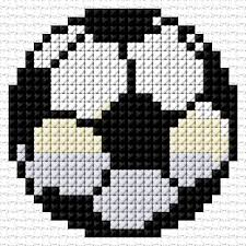 Soccer Ball 28 2384 Cross Stitch Embroidery Cross Stitch