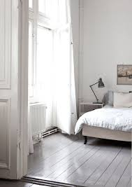 the lovely serene home of a swedish singer grey painted floors34 painted