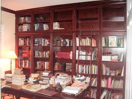 custom home office design. Built In Book Shelves. Custom White Home Office Desk Design