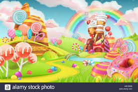 candyland board background. Perfect Board Sweet Candy Land Cartoon Game Background 3d Vector Illustration  Stock  Image On Candyland Board Background
