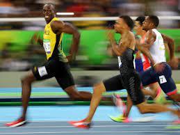 Usain Bolt rocket to 50mph ...