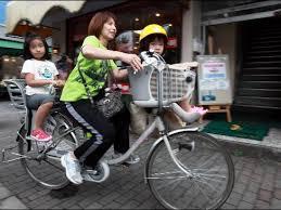 Image result for SepedaTidak Boleh Berboncengan di jepang