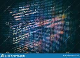 Closeup Developing Programming And Coding Technologies Developer