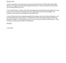 Cover Letter For Hotel Job Cover Letter Hospitality Example Samples