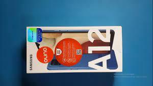 Samsung Galaxy A12 Kutu Açılımı, İnceleme, Mavi Renk 🇹🇷 - YouTube