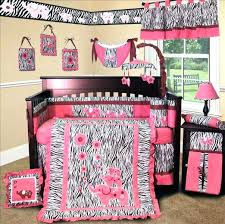 pink zebra bedding baby boutique pink zebra crib bedding set in nursery sets personalized design ideas