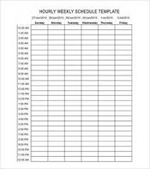 work time schedule template time management weekly schedule template pinteres