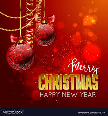 Christmas Design Template Merry Christmas And Happy New Year Design Template
