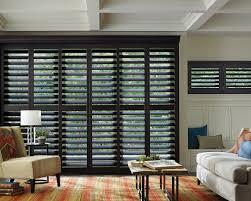 Glass Door plantation shutters for sliding glass door photos : Black Plantation Shutters For Sliding Glass Doors — Home Ideas ...