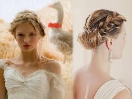Photo Coiffure De Mariage Avec Tresse Coupe De Cheveux