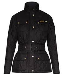 Women's Barbour Lightweight International Quilted Jacket & Women's Barbour International Lightweight Quilted Jacket - Black Adamdwight.com