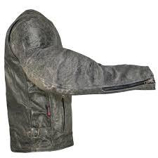 allstate men s basic brown leather motorcycle biker jacket