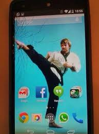 Broken screen hd images wallpaper. 22 Creative Ways To Fix Your Broken Phone Screen Bored Panda
