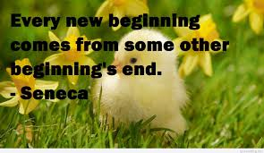 New Beginning Spring Quote