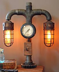 steampunk lighting. 26 Steampunk Bedroom Decorating Ideas For Your Room Lighting I