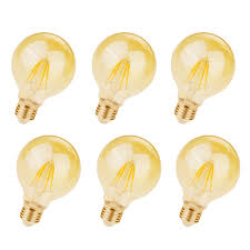 Elegant Light Bulbs Elegant Lighting G25led301 3 5 Watt Dimmable Globe Shaped Medium Copper