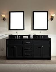 black vanity sink. Fine Vanity Ariel Hamlet 73 In Black Vanity Sink