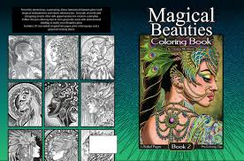You can find so many unique, cute and complicated pictures for children of all ages as well as many g. Magical Beauties Book 2 20 Print Your Own Coloring P Cristina Mcallister