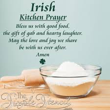 irish kitchen prayer irish vinyl wall es sayings