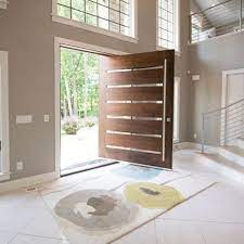 china solid oak front doors with glass