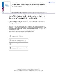 Yeast viability - Aebi 120 General Biology - McGill - StuDocu