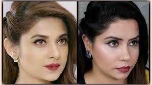 maya beyhadh jennifer winget inspired makeup hair tutorial giveaway week 3 you