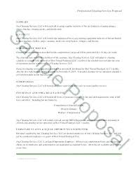 Sample Proposal Letter For Consultancy Services Contract Offer Letter Templates 9 Free Word Format Download