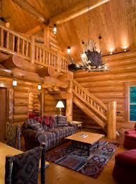 log cabin living room decor living room rustic with vaulted ceiling log home natural wood