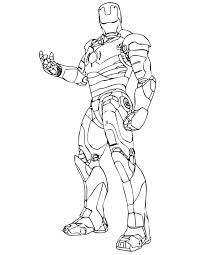 It's hard to imagine anybody other than robert downey, jr. Coloring Pages Iron Man Print Superhero Marvel For Free