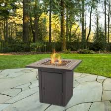new atlantis gas fire pit table