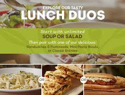 olive garden menu 2 for 25 2015. Brilliant Garden Lunch Duo Starting At 6 99 Dinner Menu Olive Garden With Regard To Go  Decor 30 Inside 2 For 25 2015 E