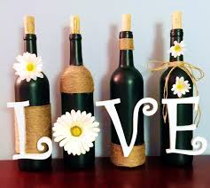 How To Decorate A Bottle Of Wine Dear Paradise DIY Wine Bottle Decoration 48