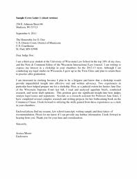 Sample Cover Letter Law School Student Sample Letter Of Recommendation For Law School Gallery Letter