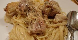 Creme fraiche chicken pasta recipe