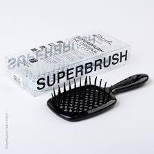 Black <b>Janeke Superbrush</b> in Carbon Fiber | 55SP226 ASS
