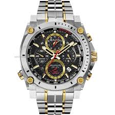 "divers watches diving watches watch shop comâ""¢ mens bulova precisionist chronograph watch 98g228"