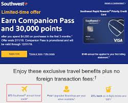 Check spelling or type a new query. Gift Cards Trigger Annual Travel Credit For Chase Southwest Airlines Priority Credit Card