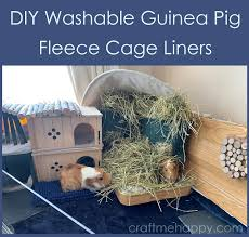 make waterproof guinea pig fleece bedding