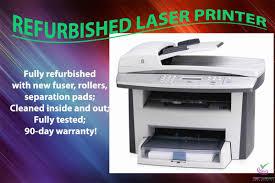 Refurbished Hp Laserjet 3052 Q6502a All In One Machine W 90 Day