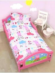 bedroom sets peppa pig bedroom set bedtime story wiki toddler bed by cot candy