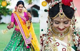 beautiful indian bridal makeup looks gujarati bridal looks 1 2