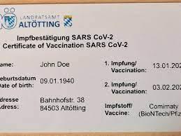 Olivia barbarino hat ihn seit kurzem. Digitaler Impfpass In Altotting Bald Geschichte Bund Plant Eine Impfpass App Das Sagt Das Landratsamt Dazu Bayern