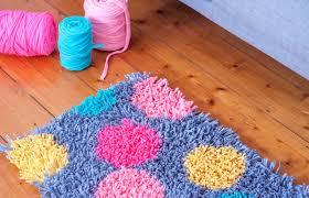 frankie exclusive diy t shirt yarn rug