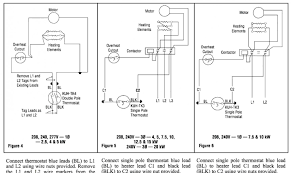 best of single pole thermostat wiring diagram what s the difference 4 Wire Thermostat Wiring at Wire Diagram For 4 Pole 240v Thermostat