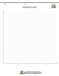 1 4 Grid Paper First Quadrant Graph Paper Excel In A 1 4 With Numbers