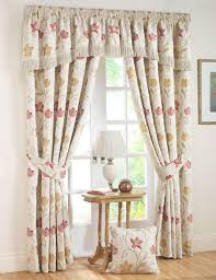 Living Room Ready Made Curtains Autumn Canterbury Ready Made Curtains Floral Curtains Uk Delivery